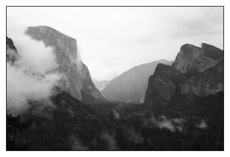 Yosemite Valley - © Paul André Pichard